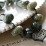 Greystoke Bracelet - Agate, Vintage..