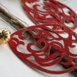 The Ruby Earrings