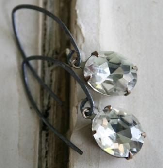 Clear JEWEL Earrings
