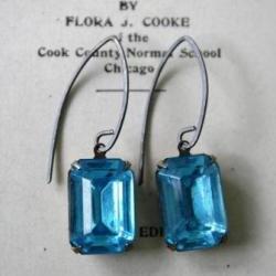Aqua JEWEL Earrings